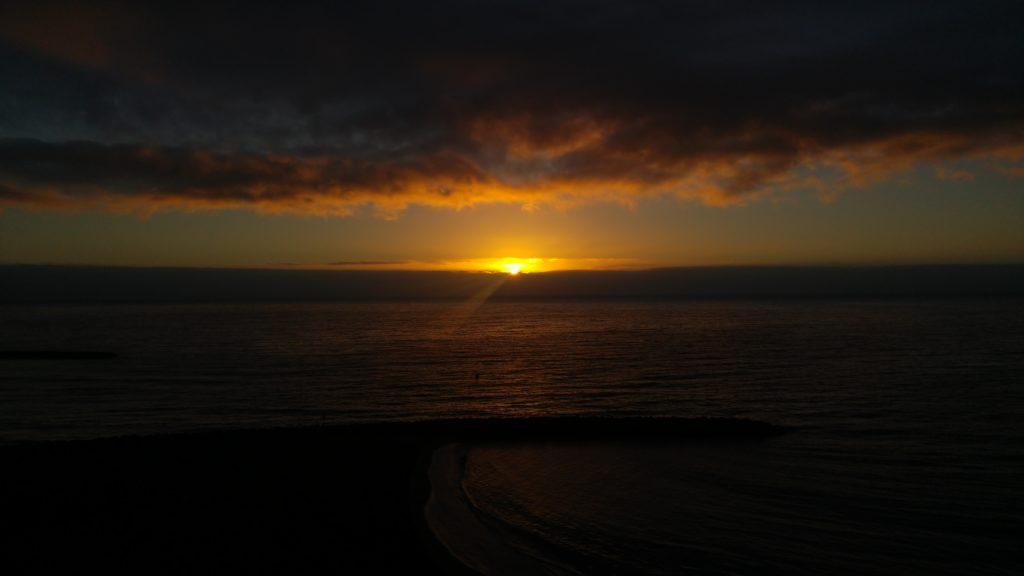 Wschód Słońca Playa del Ingles