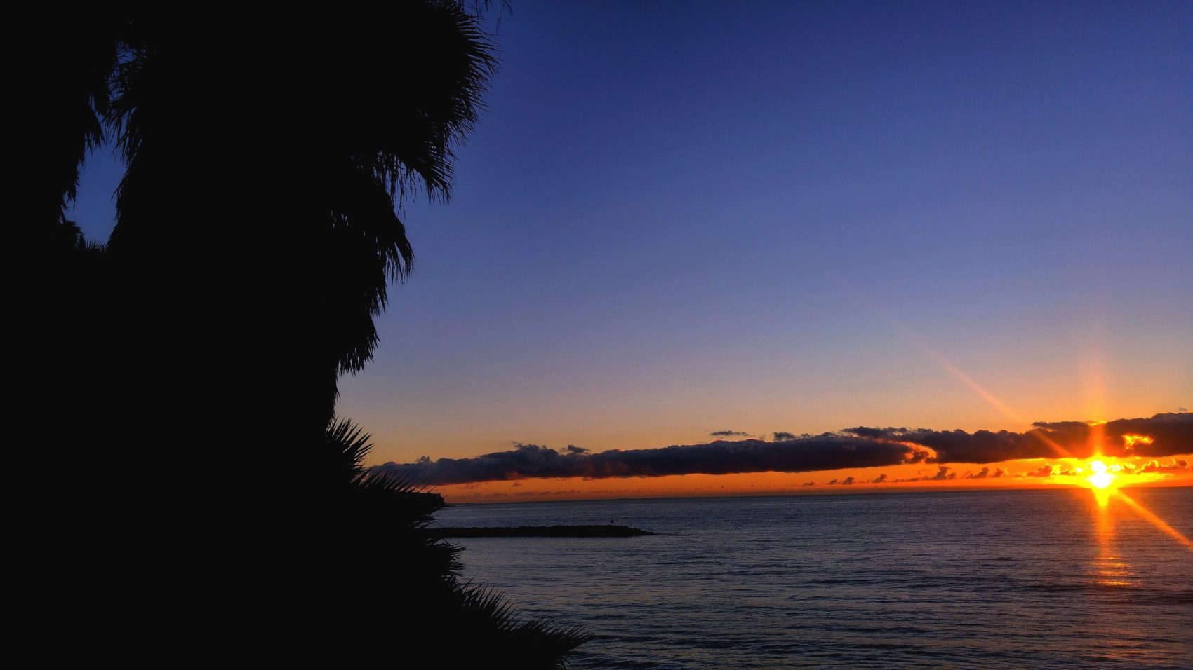 Playa del Ingles wschód słońca
