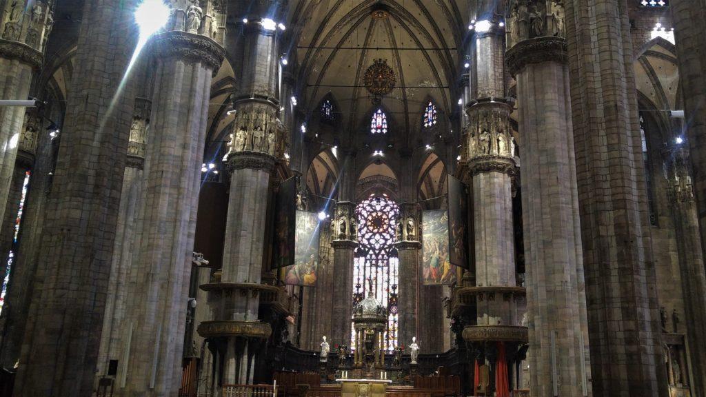 Mediolan, katedra