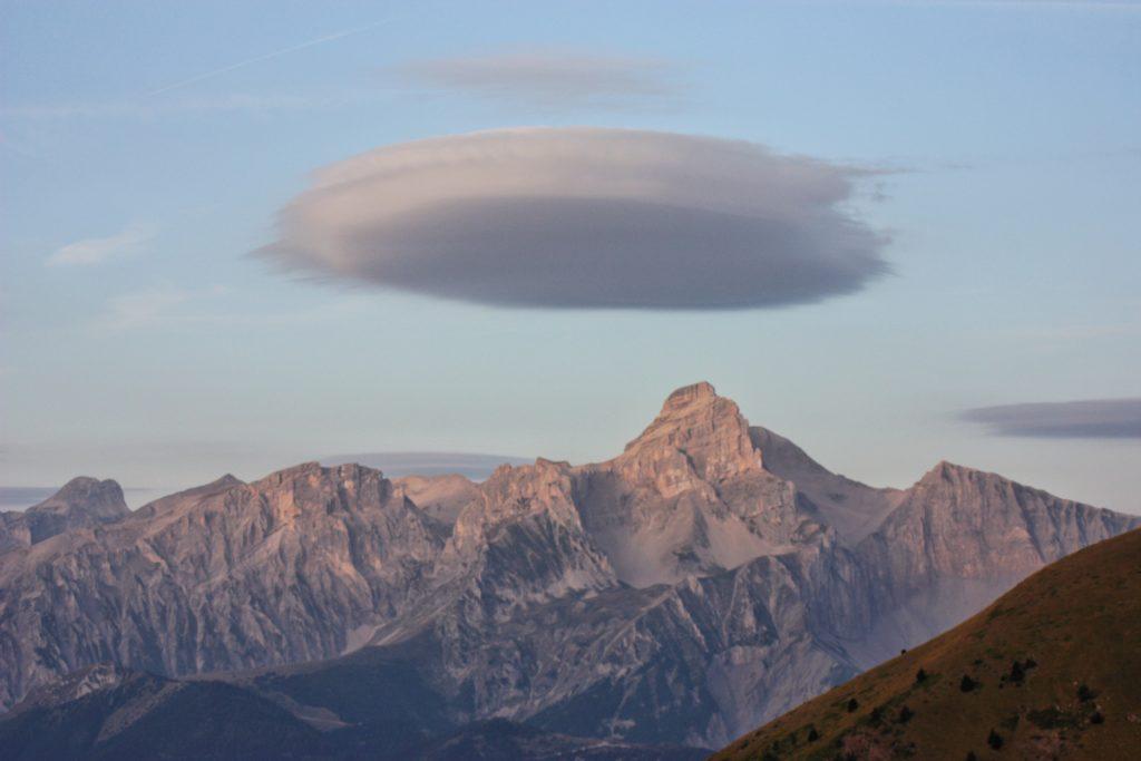 ufo nad La Salette