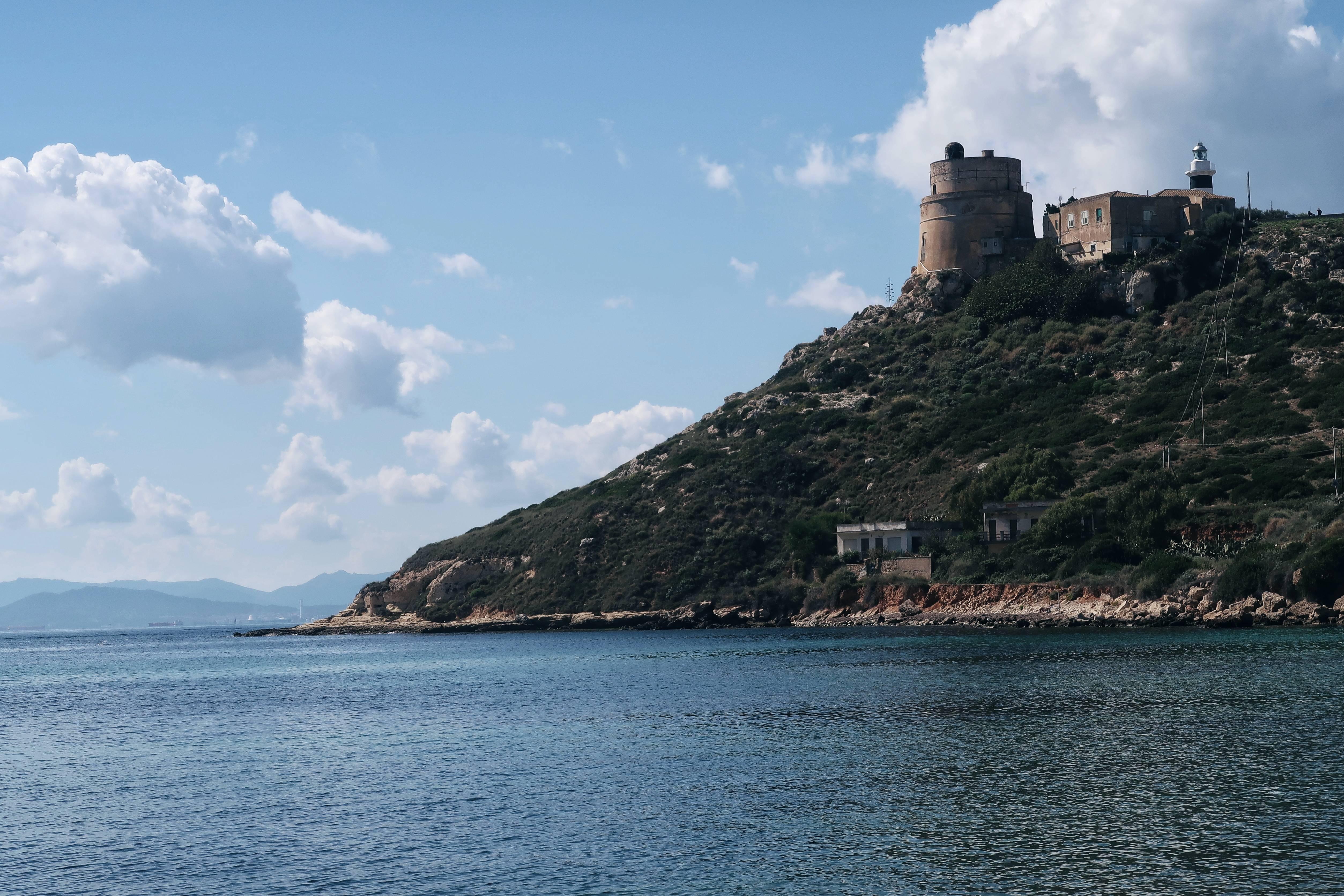 Sardynia Cagliari Calamosca