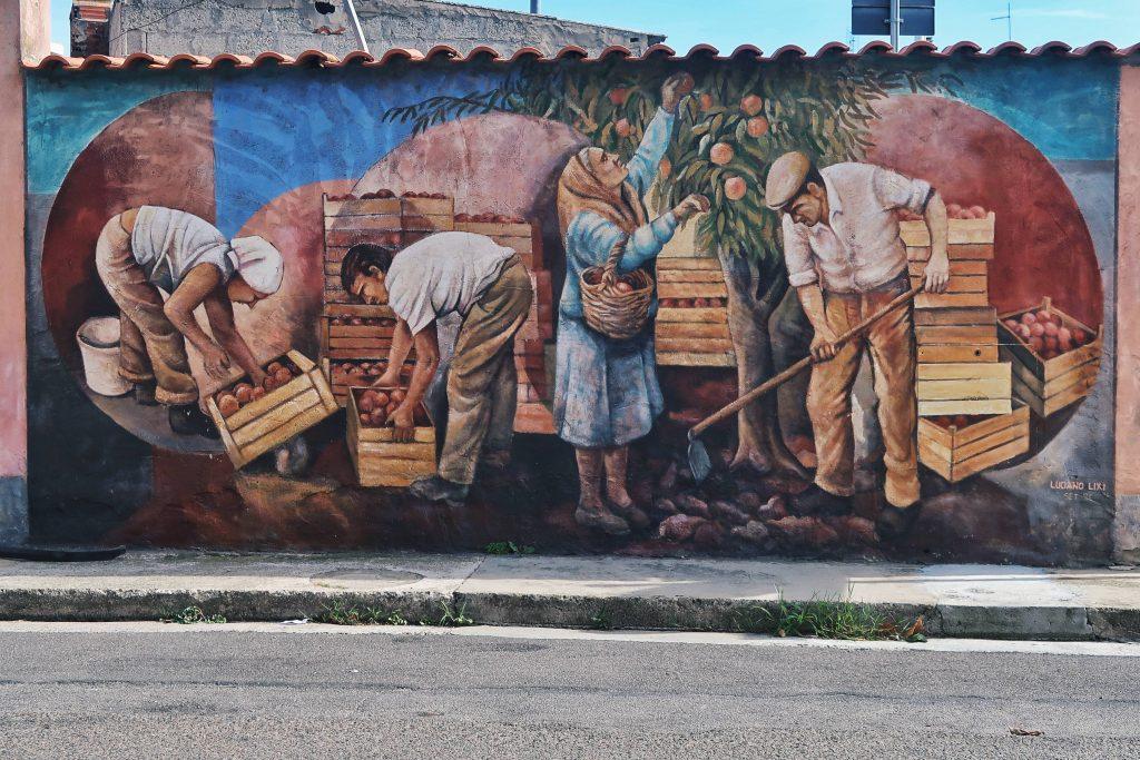 Murale w San Sperate