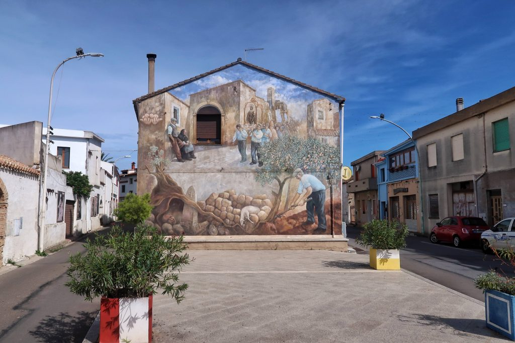 San Sperate murals
