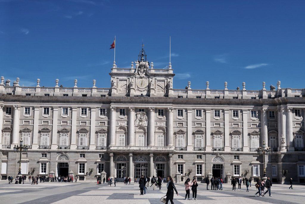 Madryt Pałac Królewski