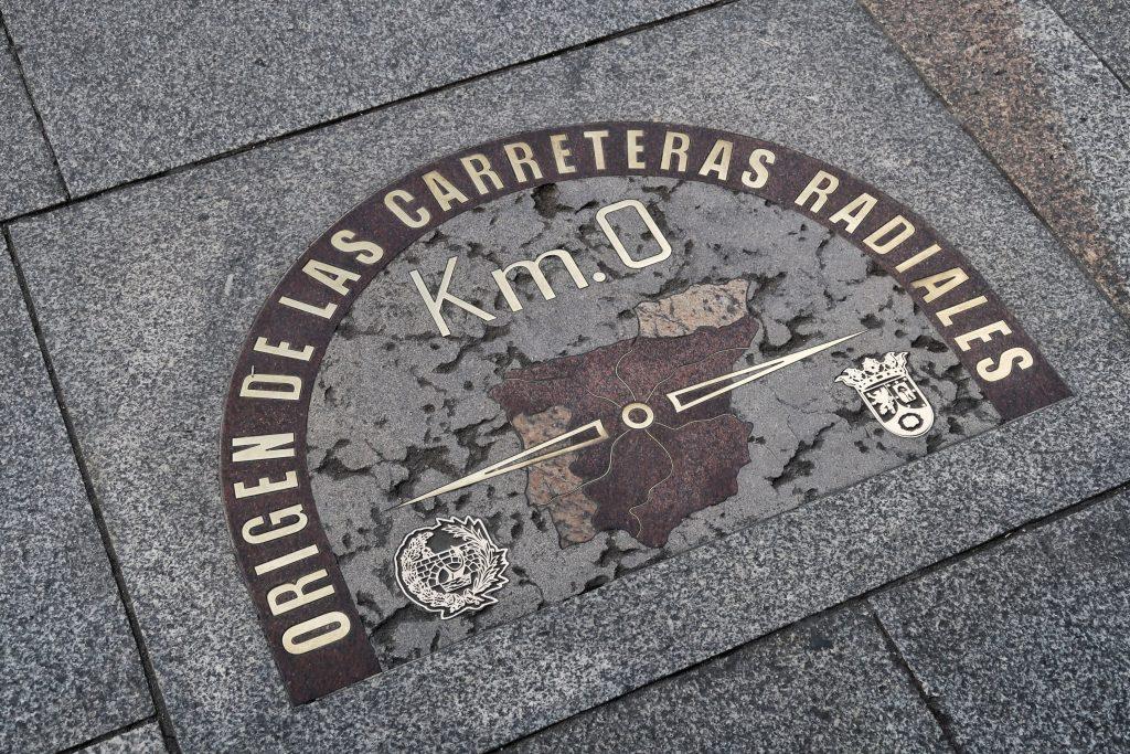 Kilometr zero Puerta del Sol