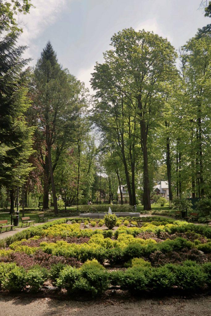 Park w Szczawnicy