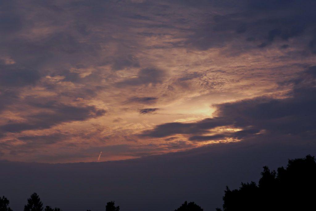 Podgórskie wschody Słońca na Kopcu Kraka