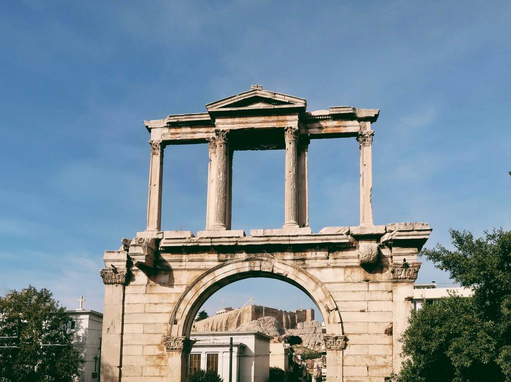 Łuk Hadriana Ateny