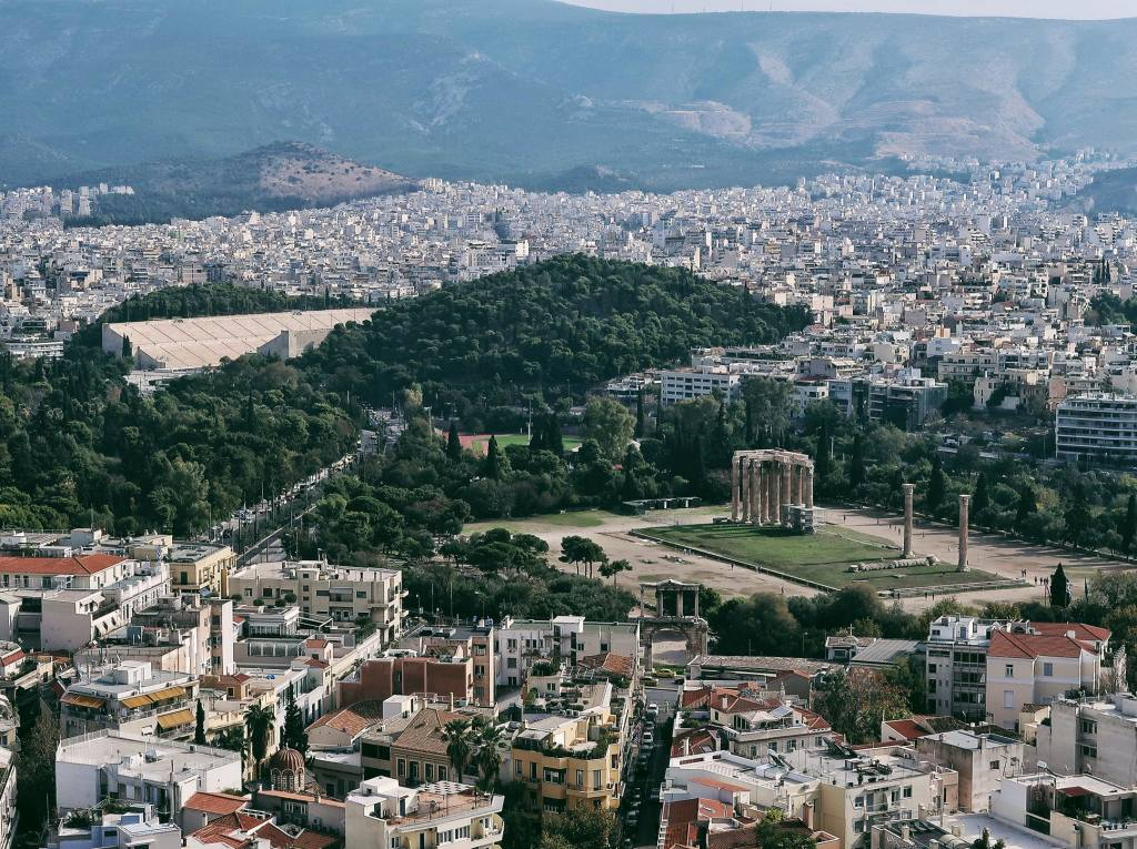 Ateny świątynia Zeusa