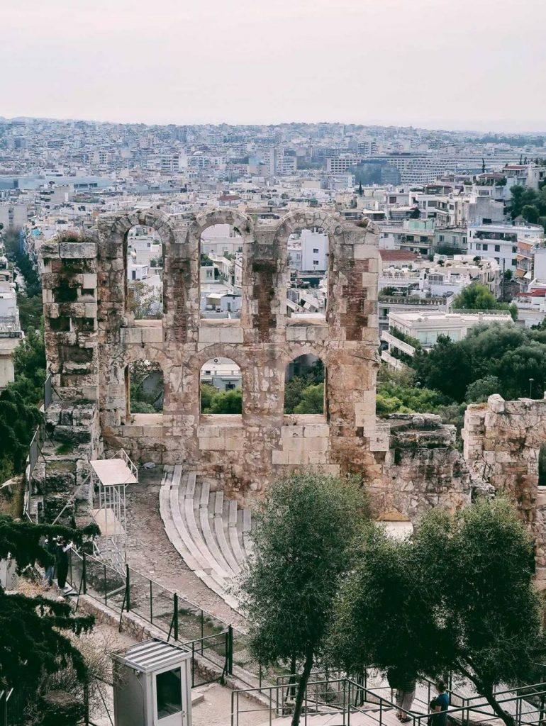 Ateny_widok_na_miasto