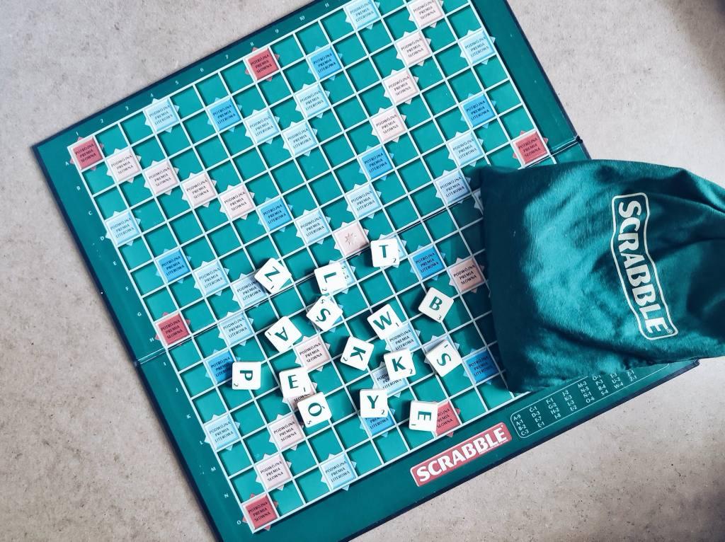 Scrabble ulubione planszówka
